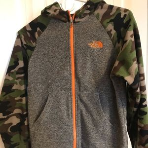 Youth North Face Fleece Hoodie